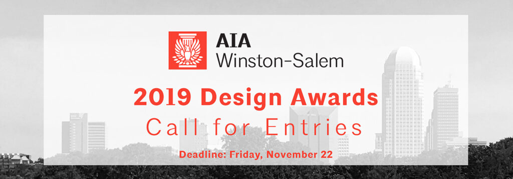 2019 Design Awards: Call for Entries!